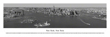 New York  New York - (Black & White)