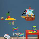 Animal Pirates Wall Decals