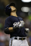 Milwaukee  WI - June 27: Norichika Aoki