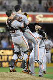 San Diego  CA - July 13: Tim Lincecum and Buster Posey