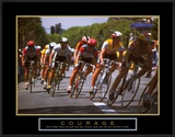Courage: Making a Turn Bicycle Race
