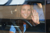 July 23 in London  England: Prince William and Catherine Depart from St Mary's Hospital