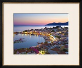 Harbour at Dusk  Pythagorion  Samos  Aegean Islands  Greece