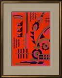 Design from 'Nouvelles Compositions Decoratives'  Late 1920S (Pochoir Print)