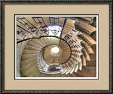 Spiral Staircase  Seaton Delaval Hall  Northumberland  England  UK