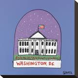 Washington DC Snow Globe