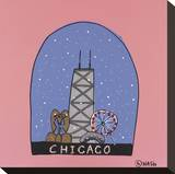 Chicago Snow Globe