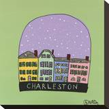 Charleston Snow Globe