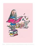 Matilda Reproduction d'art par Quentin Blake