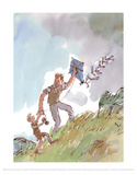 Danny the Champion of the World Reproduction d'art par Quentin Blake