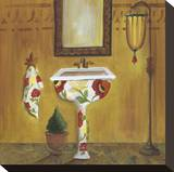 Tuscan Tub in Poppies II
