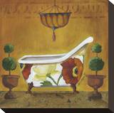 Tuscan Tub in Poppies I