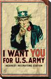 Uncle Sam: I Want You For US Army - Vintage