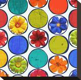Circle Pattern with Flowers I