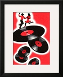 Dancing Couple and Records