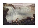 Niagara Falls  19th Century Artist Unidentified