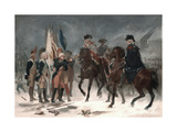 Surrender of Colonel Rall at the Battle of Trenton  1776 by Chappel  Alonzo  1828-1887