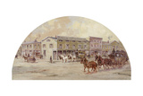 Frink and Walker's Stage Coach Office  1850 by Lawrence Carmichael Earle  1845-1921