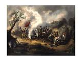 Battle of Monmouth  June 28  1778 Artist Unidentified