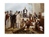 American Slave Market  1852 Created by Taylor