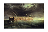 View of Ft Sumter  South Carolina  1863 Created by Chapman  Conrad Wise  1842-1910