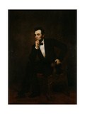 Portrait of Abraham Lincoln  Circa 1866 Created by Healy  G P A Healy
