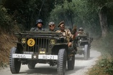 Meeting of Military Vehicles  Willys MB 8 Jeep  1941