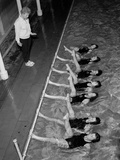 August 1962: Instructor Dawn Zajac Holds a Beginners' Class in London