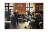 Charcot Lectures at La Salpetriere by Pierre-Andre Brouillet (1857-1914)