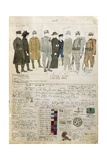 Uniforms of Kingdom of Italy by Quinto Cenni  Color Plate  1916