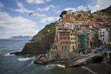 Riomaggiore Perched on An Outcrop Above the Sea