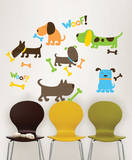 Puppy Love Wall Art Decal Kit