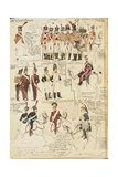 Military Uniforms of French Empire  by Quinto Cenni  Color Plate  1807-1808