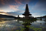 The Pura Ulun Danu Bratan Temple at Sunrise