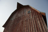 Exterior View of a Barn Near Dunbar  Nebraska