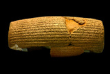 The Cyrus Cylinder  6th Century BC  the First Declaration of Human Rights