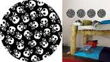 Argh Pirates Dots Wall Decal Sticker