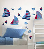 Regatta Blox Wall Decal Sticker