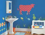 Dakota the Cow ZooWallogy Wall Art Kit