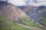 Clouds and Mountains in Denali National Park  Alaska