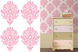 Patchwork Daisy Dots Wall Decal Sticker