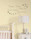 Twinkle  Twinkle Nursery Rhymes Wall Decal Sticker
