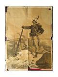 First World War  Italian Alpine in Uniform  Poster