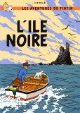 L'Ile noire, vers 1938 Reproduction d'art par Hergé (Georges Rémi)