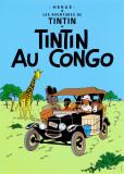 Tintin au Congo (1931) Reproduction d'art par Hergé (Georges Rémi)
