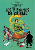 Les 7 Boules de Cristal, c.1948 Reproduction d'art par Hergé (Georges Rémi)