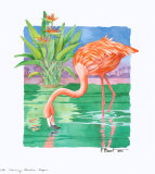 Flamingo Paradise  Repose