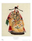 Emperor in Yellow Kimono