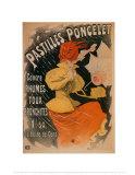 Pastilles Poncelet Reproduction d'art par Jules Chéret
