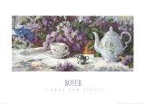 Teapot and Lilacs